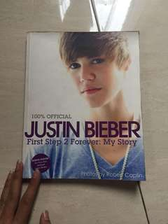 Buku Justin Bieber First Step To Forever