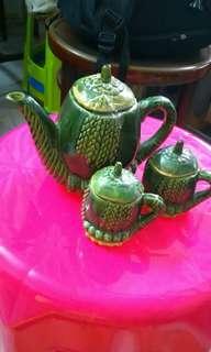 Old style tea pot