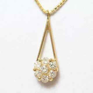 0.2 cts - 18k Diamond Necklace