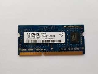 ELPIDA DDR3L 1600 4GB SO-DIMM