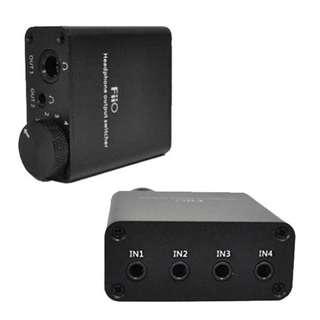 FiiO HS2 Headphone Output Switcher