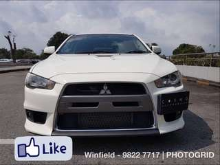 Mitsubishi Lancer Evolution X 2.0 Auto GSR SST