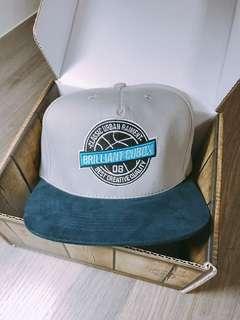 🚚 🔥🔥CUBOX美國主義可調式棒球帽🔥🔥灰藍