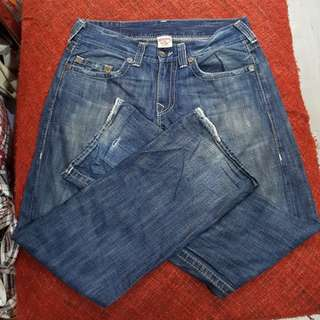 TRUE RELIGION JEANS ( MADE IN USA )