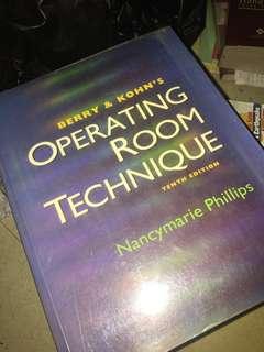 Operating Room Technique