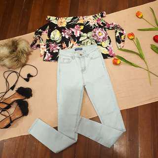 American Apparel Highwaist Jeans