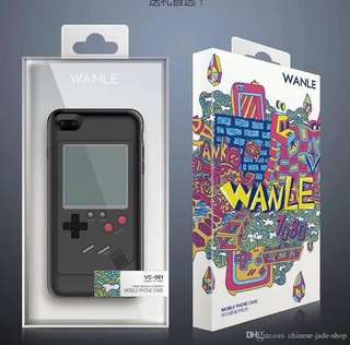 Retro 3D Game Boy TPU Hard Cover Phone Case for Iphone 6 Plus