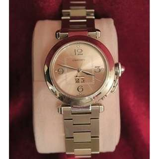 Used item 90% new That bought it from used watch shop years ago  Still have receipt.  Price firm Pls call 60218425 if interested
