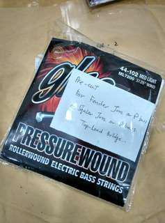 Pre-cut GHS Pressurewound bass string