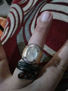 Jarum mas&Akar Bahar ring