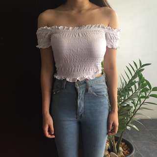 New Look Off Shoulder White