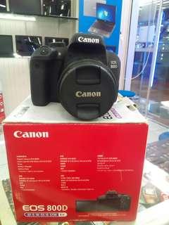 Canon 800D kit 18-55mm stm