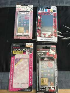 BN: iPhone 5 Hello Kitty Screen Protector