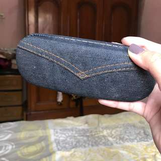 Jeans Glasses Case