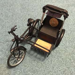 🚚 ✨復古新加坡三輪車模型擺攤擺件