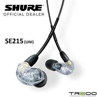 Shure SE215 (UNI) In-Ear Earphone with In-Line Microphone