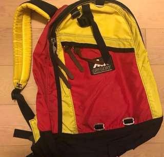 急放!Gregory 紅黃色背囊 backpack