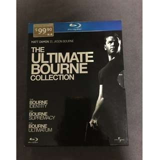 """The Bourne Ultimate Collection Trilogy Boxset"" Blu-ray Disc (3-discs)"