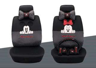 MICKEY MINNIE MOUSE CAR SEAT COVER