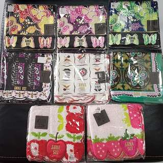 Anna Sui Authentic mini Scarf & Square Handkerchief from Japan