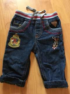 6-12 months Baby Polo Jeans