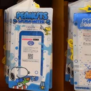 USJ Snoopy 新款手機防水袋