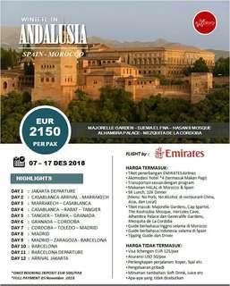 Tour ke Andalusia