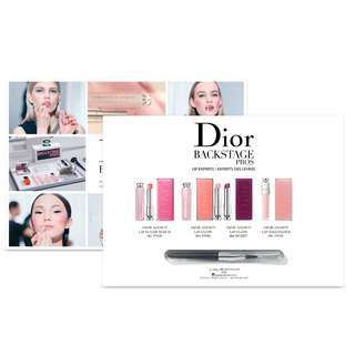 Christian Dior Backstage Pros Lip Experts - 4 Colours