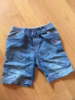 12-18 months short pants