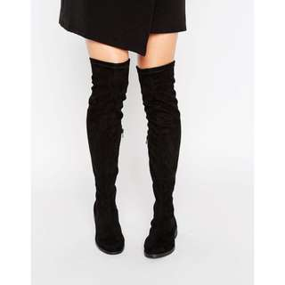 ASOS KEMPTON Over The Knee Boots
