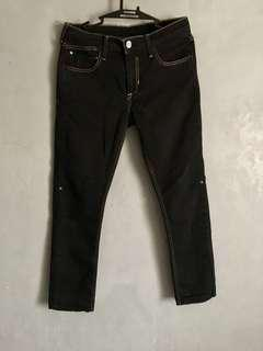 Lee black jeans semi fit like uniqlo zara bershka nike