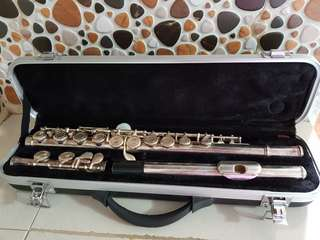 Flute silver plated