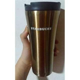 Starbucks gold tumbler