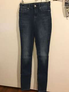 Never worn JeanWest jeans