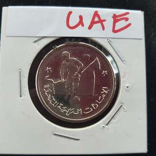 World Cup Medal Medallion token UAE #21  1990 by Caltex