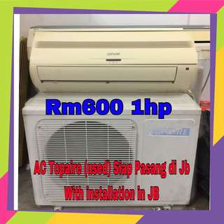 Air Conditioner Topaire 1hp (used)