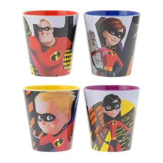 [PO] Disney Japan Incredibles Family Cup Set of 4