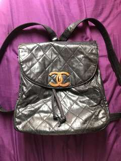100%Authentic Chanel vintage backpack