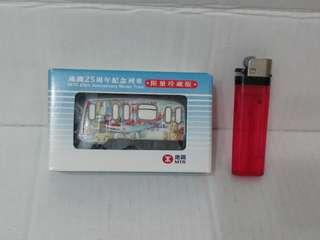 全新 港鐵/地鐵 25周年 Q版 紀念列車模型