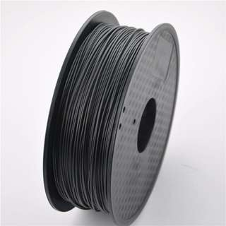 Print3D CARBON FIBER 1.75MM INDUSTRIAL PRODUCTION GRADE 3D PRINTER FILAMENT ANTI STATIC MATERIAL(Suitable for Electrical and Drone Modelling) BLACK 1KG