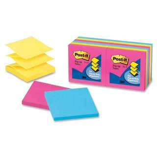 "3M R330 Post-It 3""x3"" Pop-Up Notes Neon"