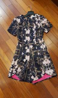 Love Bonito floral playsuit