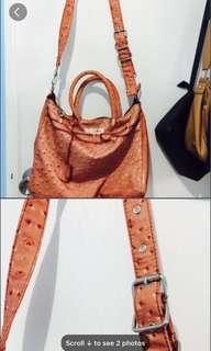 Orange satchel