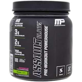 SALE MusclePharm, Assault Black, Pre-Workout Powerhouse, Watermelon, 12.91 oz (366 g)