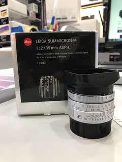 Leica 35mm F2 Summicron-M ASPH Lens