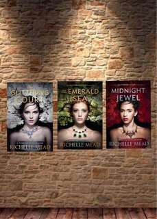 Richelle Mead The Glittering Court Trilogy E-book