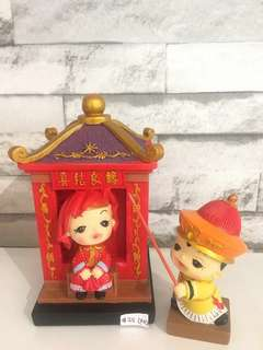 "5.5"" Chinese Wedding Doll (set)"