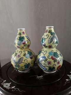 A pair of porcelain vase