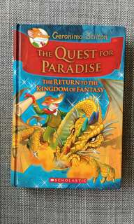 Geronimo Stilton The Quest For Paradise