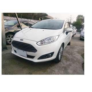 2014年 福特 Fiesta   白 ✅0頭款 ✅免保人✅低利率✅低月付 FB搜尋:阿源 嚴選二手車/中古車買賣
